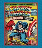 Marvel Comics - Captain America Fabric Panel