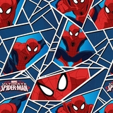 Marvel Ultimate Spiderman Web Fleece Fabric