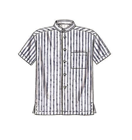 Men 39 S Shirts M2149 Sizes Extra Large 46 48