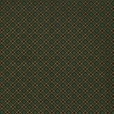 Metallic Bias Tartan Green Fabric Fat Quarter