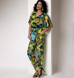 Misses' Dress and Jumpsuit B6220 Sizes LRG, XLG, XXL