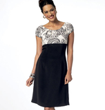 Misses' Dress B5836 Sizes 8, 10, 12, 14, 16, 18, 20, 22