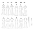 Butterick B5030/BB | Misses Dress Belt and Sash | Size (8-10-12-14) | Sewing Pattern  9