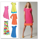 McCalls M6465/F5 | Misses Dresses | Size (16-18-20-22-24) | Sewing Pattern