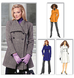 Misses' Jacket and Coat B5685/FF(16-18-20-22)