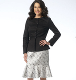 Misses' Jacket and Dress B6158 Sizes 6, 8, 10, 12, 14, 16, 18, 20, 22