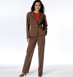Misses' Jacket and Pants B6119 Sizes 6, 8, 10, 12, 14, 16, 18, 20, 22