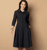 Misses'/Misses' Petite Dress and Belt B6091 Sizes 8, 10, 12, 14, 16
