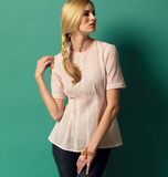 Misses' /Misses' Petite Top and Tunic B5890/A5(6-8-10-12-14)