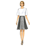 Misses' Skirt and Culottes B6179 Sizes 14, 16, 18, 20, 22