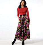 Misses' Skirt B5840 Sizes XSM, SML, MED, LRG, XLG, XXL