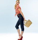Misses' Top and Jeans B5895/AX5(4-6-8-10-12)
