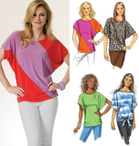 Misses' Top B5753/Y(XSmall-Small-Medium)