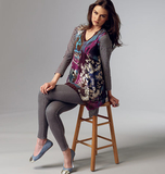 Misses' Top B5925/Y(XSmall-Small-Medium)