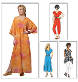Misses' Top, Dress, Caftan, Jumpsuit and Pants B5652/ZZ(L-XL-XXL)