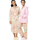Misses' Top, Nightshirt and Pants B5704 Size XSM, SML, MED, LRG, XLG