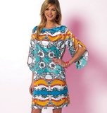 Misses' Top, Tunic and Dress B5815/B5(8-10-12-14-16)