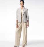 Misses' Unlined Jacket, Top and Pants B5977 Sizes 6, 8, 10, 12, 14, 16, 18, 20, 22