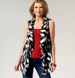 Misses' Vest and Jacket B5789/ZZ(Large-XLarge-XXLarge)