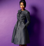 Misses' /Women's Jacket, Coat and Belt B5966/B5(8-10-12-14-16)