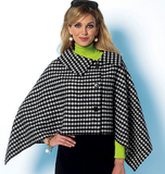 Misses' Wrap and Cape B5819/Y(XSmall-Small-Medium)