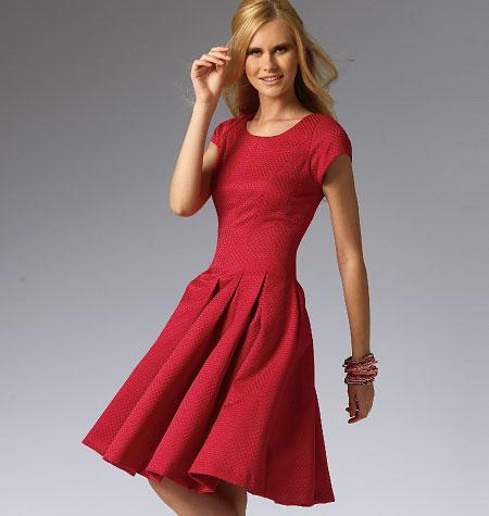 939a1f64bd8 Misses  Miss Petite Dresses M6834 Sizes 6