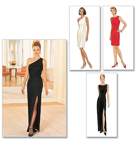 Butterick B4343/6 | Misses Petite Lined Dress | Size (6-8-10-12) | Sewing Pattern