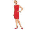 Butterick B4343/6 | Misses Petite Lined Dress | Size (6-8-10-12) | Sewing Pattern  4