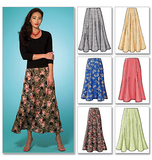 Misses'/Misses' Petite Skirt  B4136 Sizes 20, 22, 24