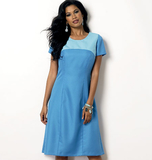 Misses'/Women's Dress B6033/MISS[(XS-S-M-L-XL)]