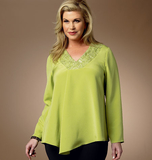 Misses'/Women's Top B5999/MISS[(XS-S-M-L-XL)]