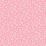 Mountain Meadow Star Flowers on Pink Fabric
