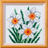 Narcissus Cross Stitch Kit