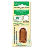 Natural Fit Leather Thimble Small