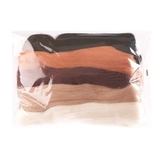 Natural Wool Roving Assorted Browns 50 Grams