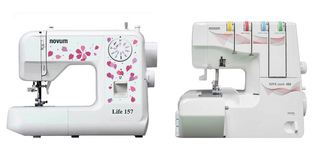 Novum Supa Lock 488 Pro Overlocker + Novum Life 157 Sewing Machine BLACK FRIDAY COMBO OFFER