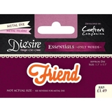 Crafter's Companion DS-E-W-13 | Friend Die | Only Words Templates | Die Cutting