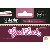 Crafter's Companion DS-E-W-55 | Good Luck Die | Only Words Templates | Die Cutting
