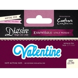 Crafter's Companion DS-E-W-34 | Valentine Die | Only Words Templates | Die Cutting
