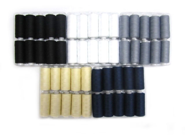 Overlocking Threads 50 Reel Set  Sewing Thread