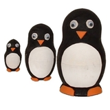 Painta Pets Percy the Penguin Nesting Doll