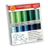 Paradise Embroidery Thread Set Sulky Rayon 40 10pk