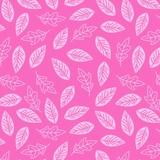 Paradise Leaves in Pink Fabric Fat Quarter Single