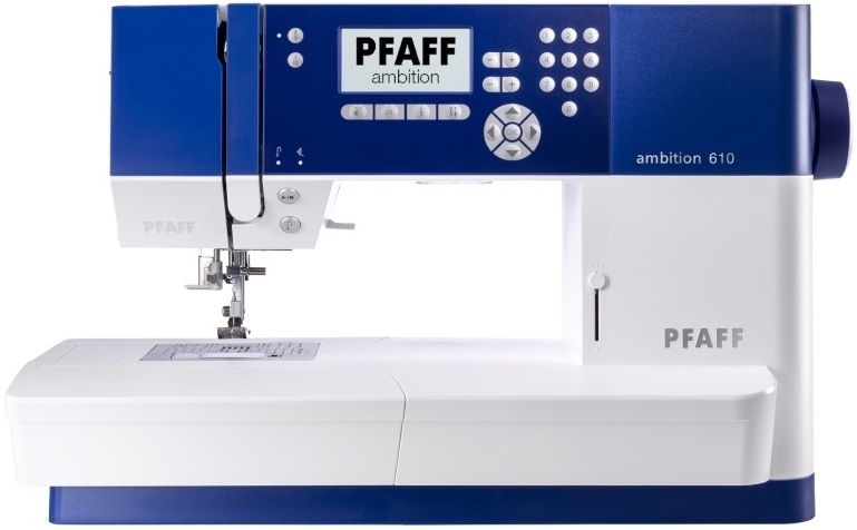 Pfaff Ambition 610 Computerised Sewing Machine IDT Sewing Machine