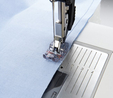 Pfaff Clear 1/4 Inch Quilting Foot with IDT (Cat K)