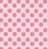 Pink Daisy on White 1 Metre Fabric