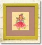 Pink Fairy Felt By Number Kit