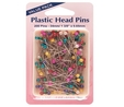 Plastic Head Pins Value Pack 38mm