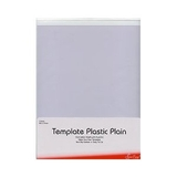 Plastic Template Plain