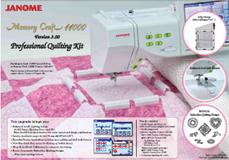 Professional Quilting Kit for MC11000